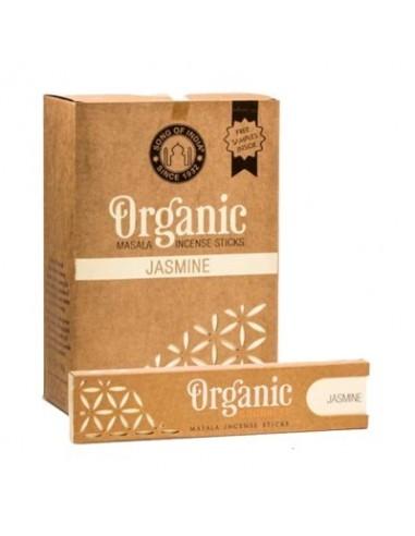 Incienso orgánico Masala Jazmín