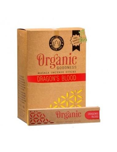 Incienso orgánico Masala Sangre de...