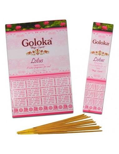Incienso Goloka Lotus
