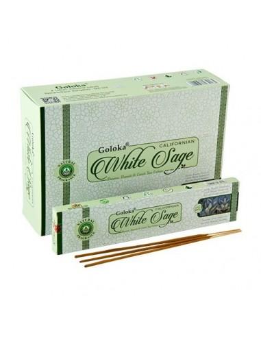Incienso Goloka Herbal White Sage