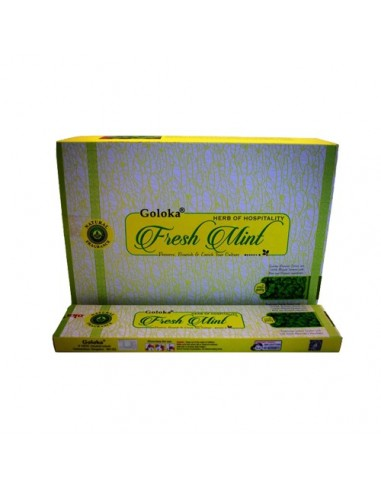 Incienso Goloka Herbal Fresh Mint
