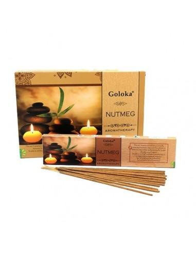 Incienso Goloka Aromaterapia Nutmeg -...