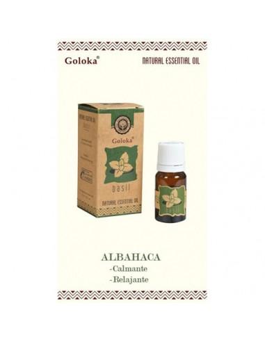Aceite esencial natural Basil Goloka